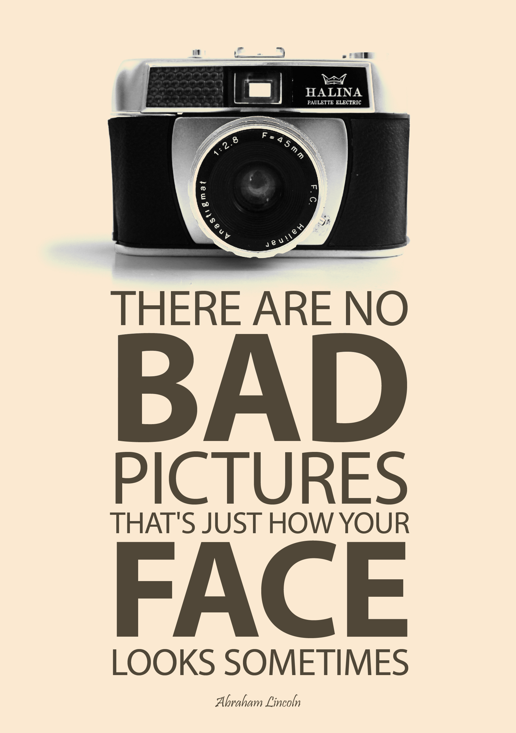 A Good Quote To Stand By Retro Camera Uk